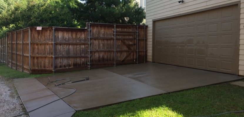 Residential Concrete Pressure Washing