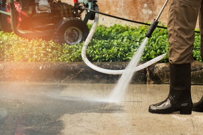 How Much Water Does Pressure Washing Use?
